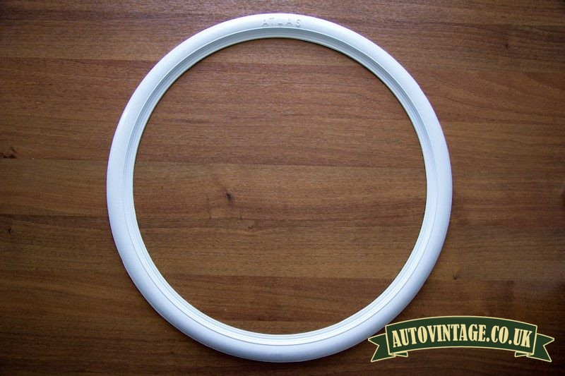 Whitewall motorcycle tyre trims for sale